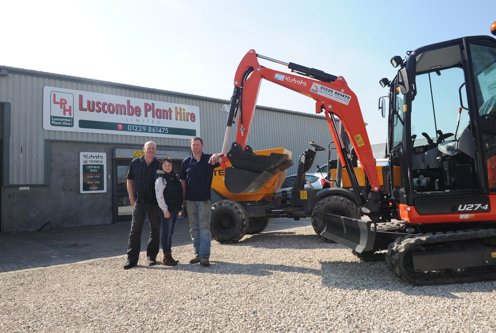 Luscombe Plant Hire Ulverston