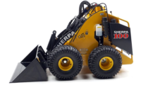 Stand-On Skidsteer c/w Bucket