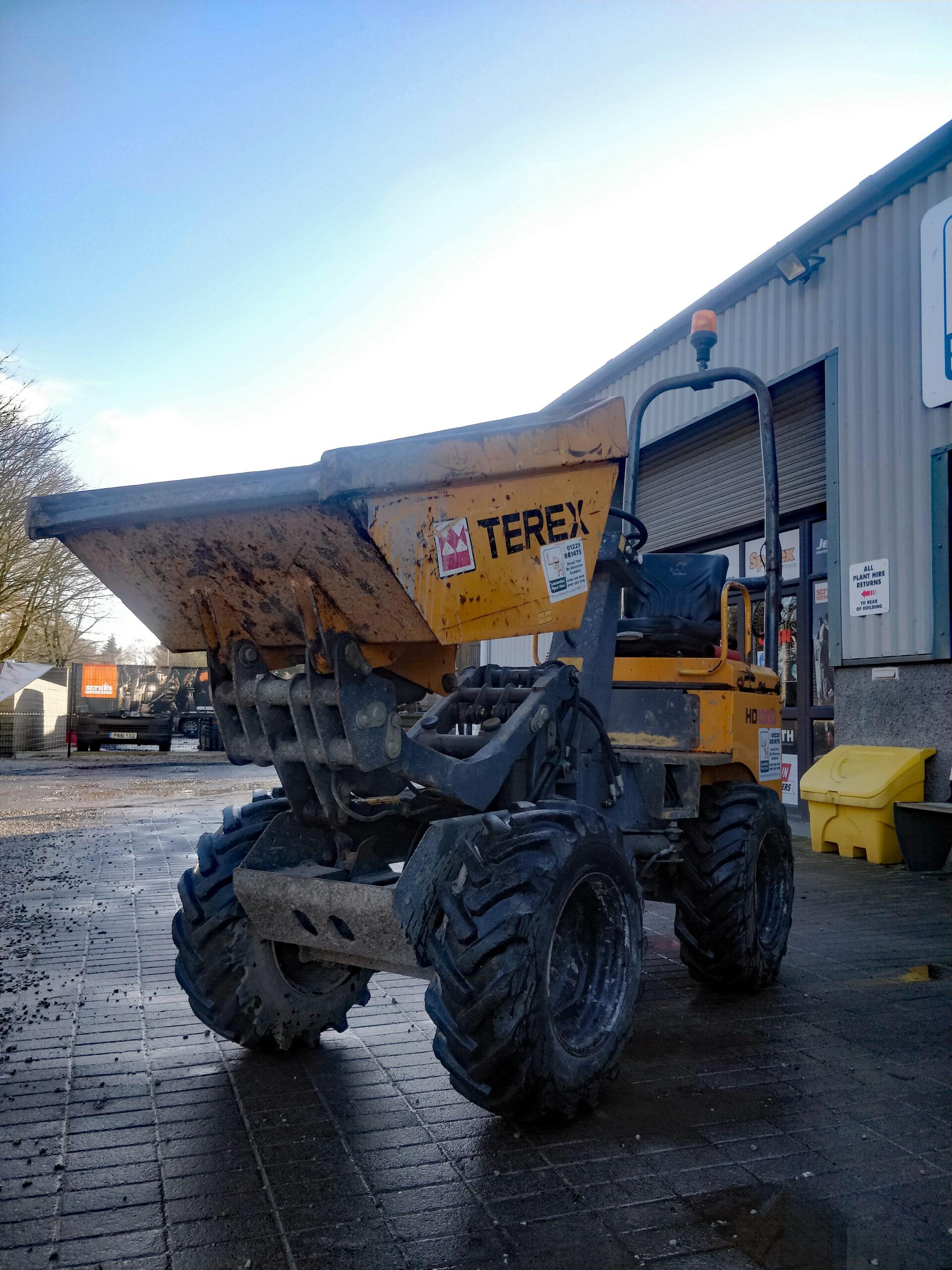 Terex HD1000 High-Lift Dumper 1